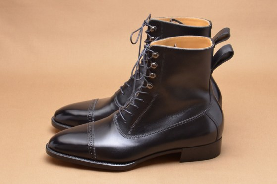 Hiro Yanagimachi balmoral boots