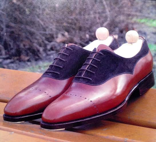 Maftei bespoke shoe two tone oxford