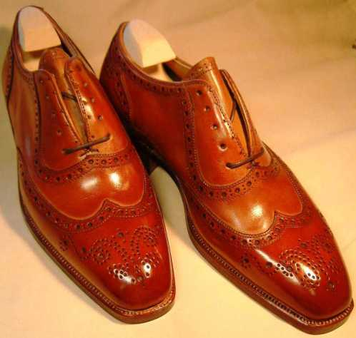 "Gaziano & Girling Bespoke, ""Handmade"" shoes"