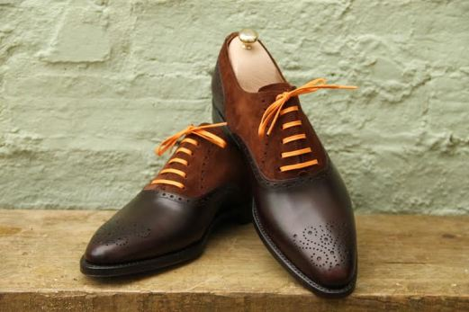 J.FitzPatrick Wallingford with orange laces