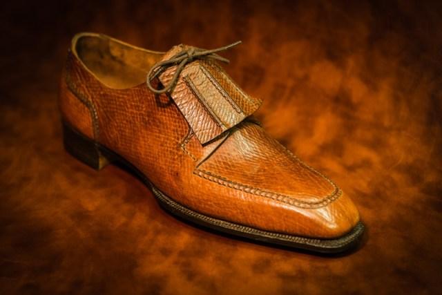 George Cleverley Bespoke Apron toe with Fringe