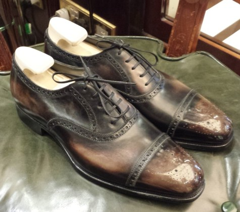 Foster & Son Oxfords Antique