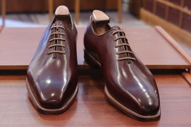 New Enzo Bonafe Whole Cut Oxfords