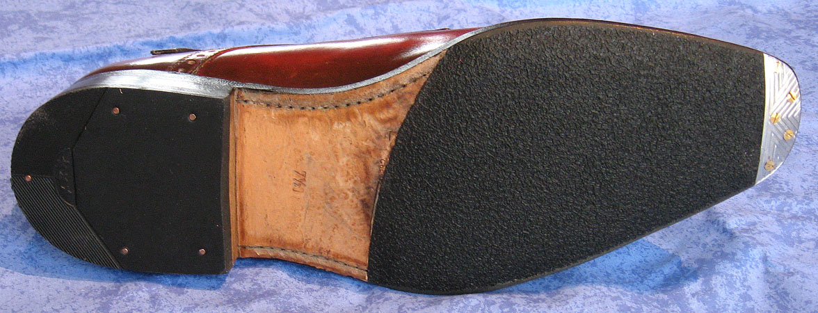 How To Put Heel Plates On Shoe