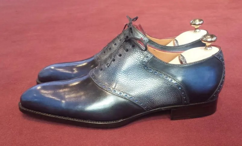 Septieme Largeur Saddle Shoe Patina1