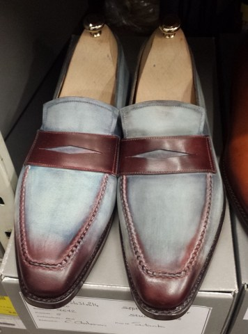 Septieme Largeur 'Miro loafer in for a cool patina