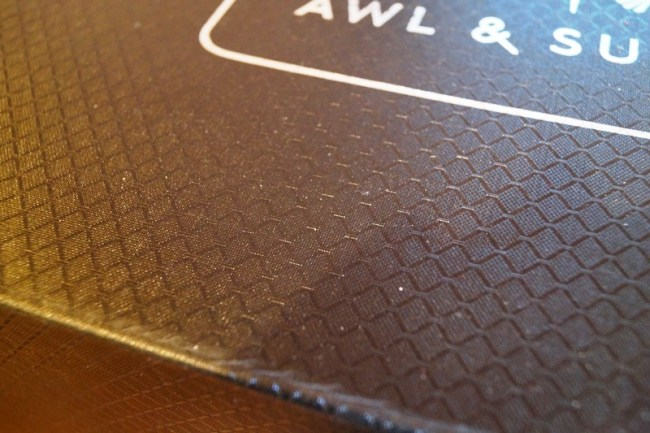 nice texture on the box...details