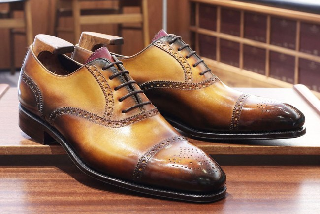 Carmina with Patina by Dandy Shoe Care