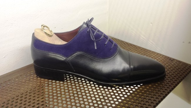 Their famous two tone oxford, one that gave me a lot of inspiration to set my tone as a designer