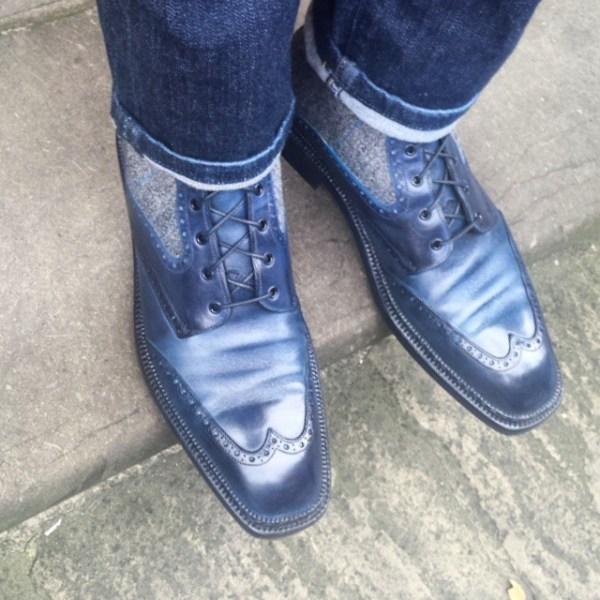 Bespoke Gaziano & Girling Boots
