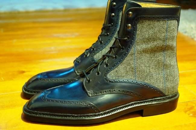Gaziano & Girling bespoke boots