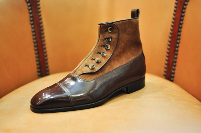 Aubercy Button boot, courtesy of Parisian Gentleman