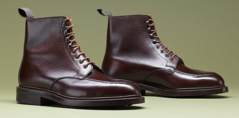 6.Galway Dark Brown Country Calf - Crockett & Jones AW15