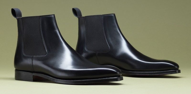 9.Lingfield Black Calf - Crockett & Jones AW15