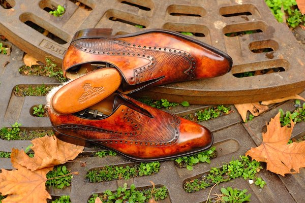 Patina courtesy of Dandy Shoe Care