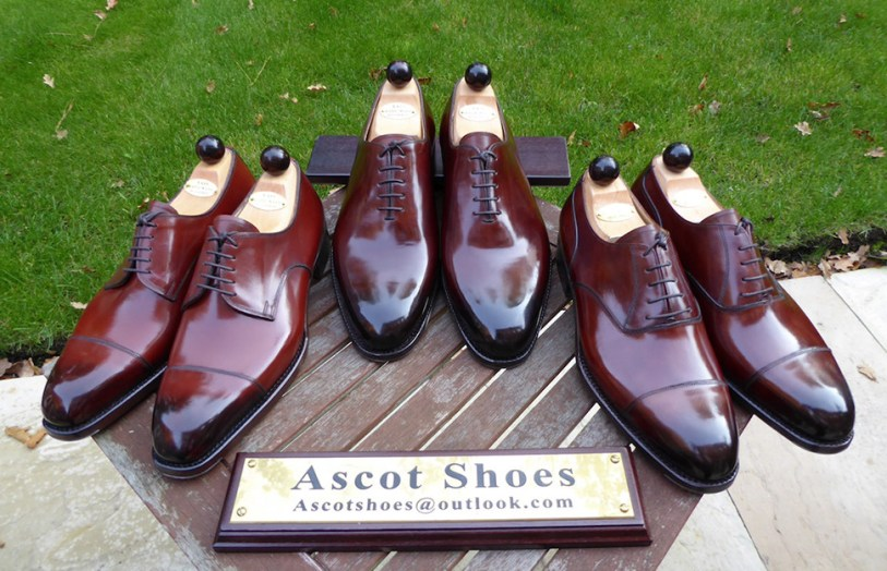 Vass shoes courtest of Ascot Shoes