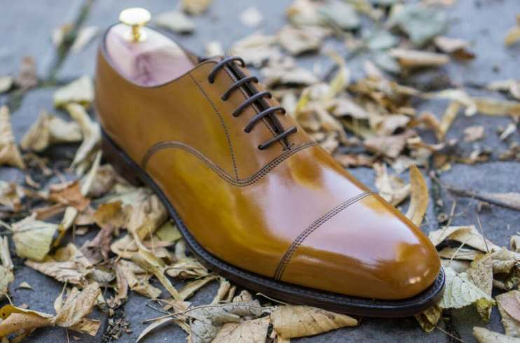 Loake shoes all shined up from the Swedish Shoe Shining Championship