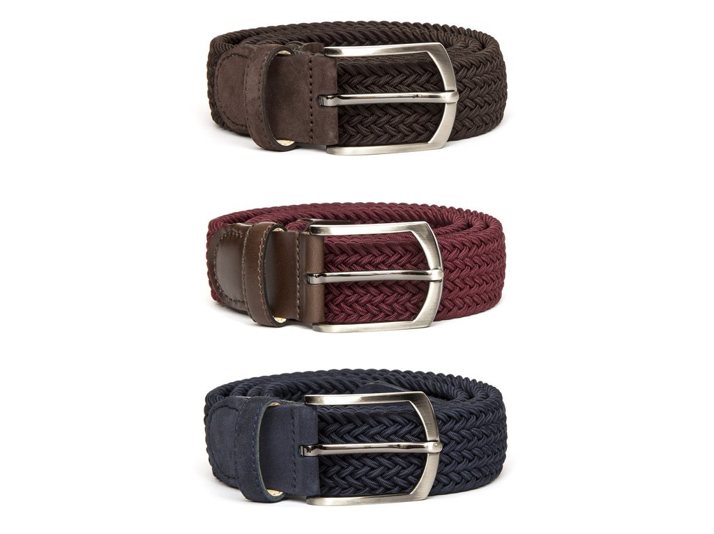 Braided Belts -- 3 for £110 (ex vat £91.67