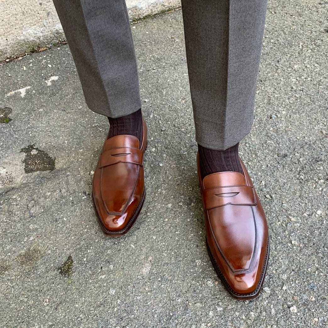 Penny Loafers – Classic Round Toe or Modern Elongated Toe ...