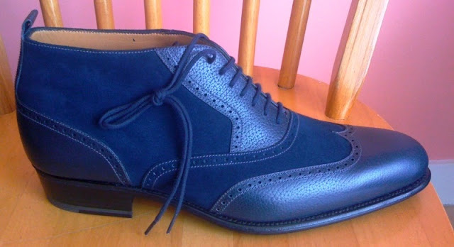 An Ode to Blue Dress Shoes