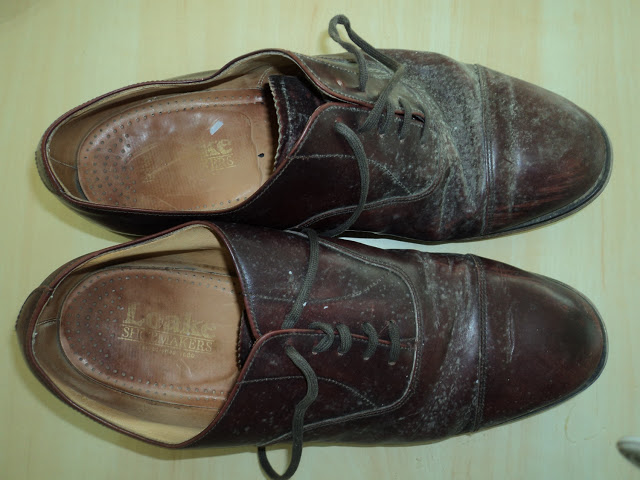 Repairing Cracked Leather On Old Shoes