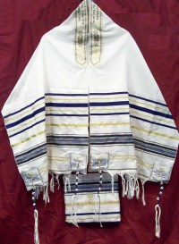 LOWEST PRICES ON BLUE TALLIT PRAYER SHAWL