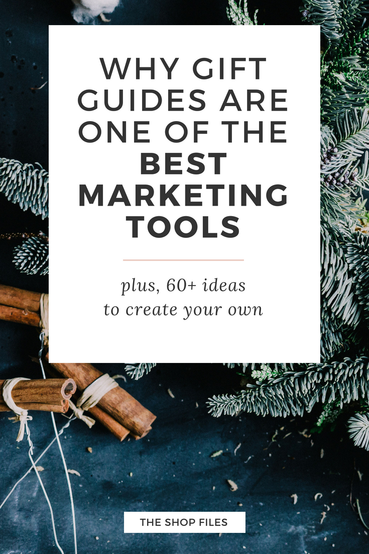 During the Christmas and holiday season, customers are actively looking for gift ideas - which is good news for you! Learn how to increase sales and traffic during the holiday season with gift guides