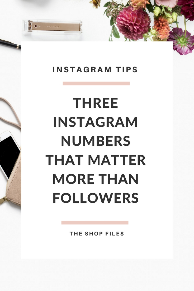 Three Instagram Numbers That Matter More Than Followers. Want to understand what a good engagement rate is on Instagram or a good likes to followers ratio? Read this post to see why engagement is king on Instagram. On Instagram engagement is the new black.