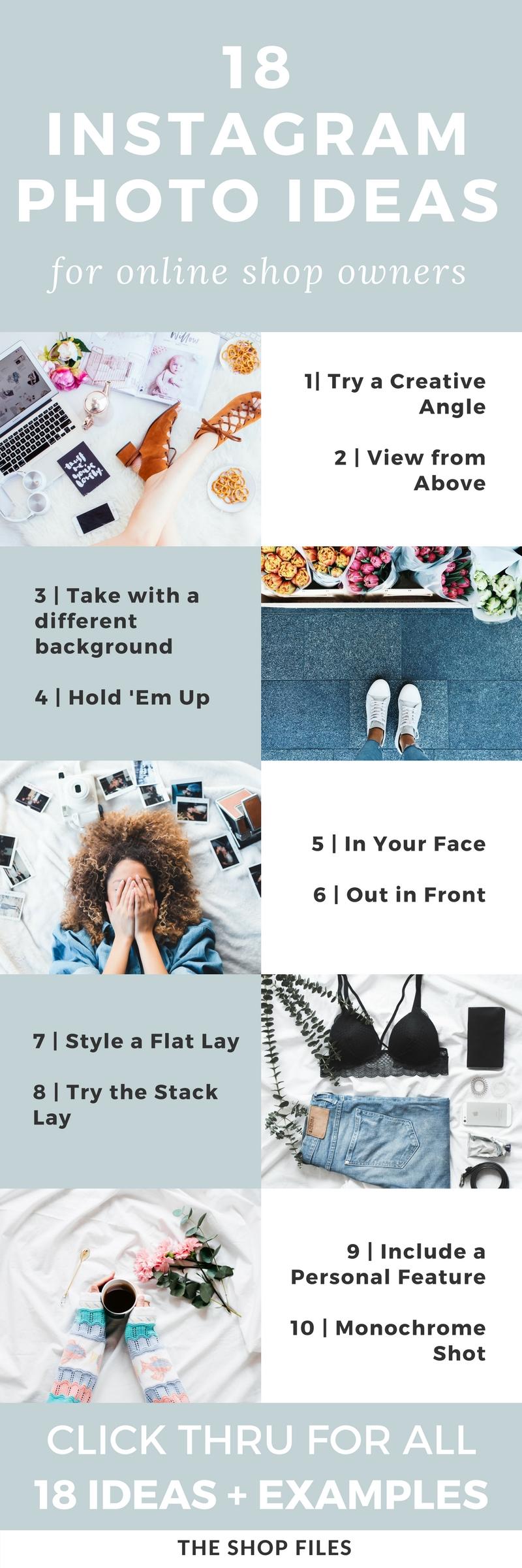 Instagram Photo Ideas for Online Shops   The Shop Files