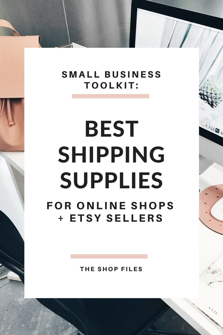 Small Business Toolkit- Shipping Supplies for Etsy Shops and Online Stores