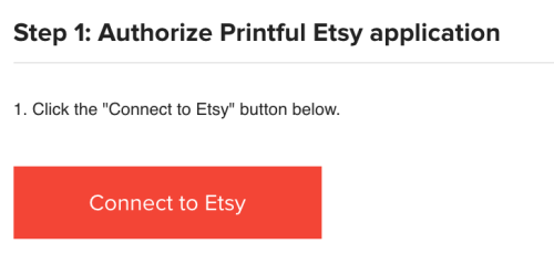 How to Sell on Etsy with Printful, How to Connect Printful with Etsy