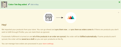 How to Sell Printful Products on Etsy with new integration