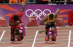 sports satire 100m final