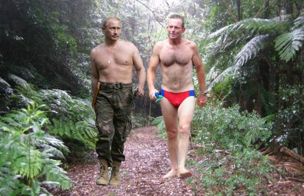 Abbott Putin G20