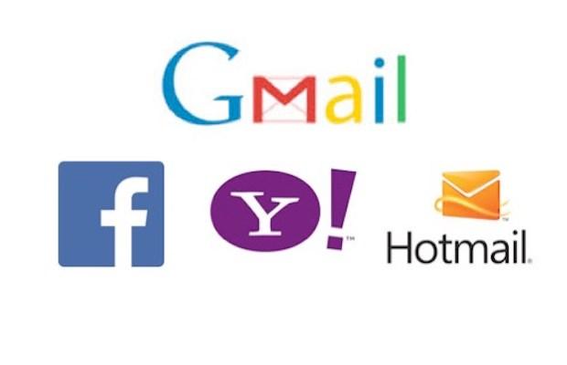 gmail and hotmail metadata