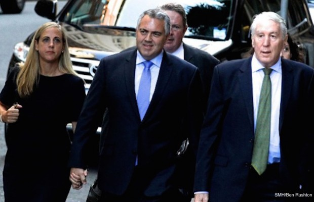 joe hockey defamation