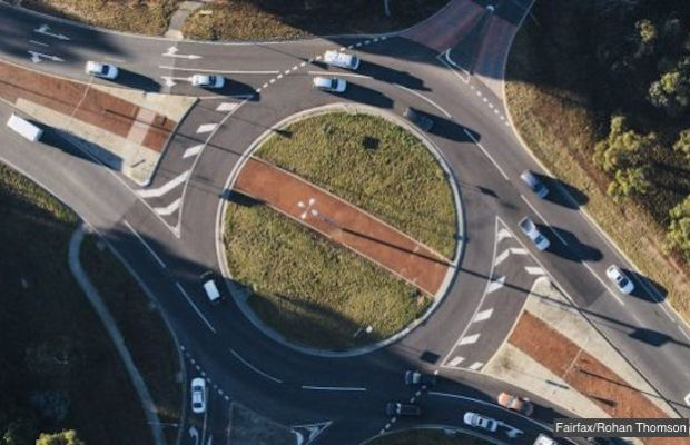 Canberra roundabout