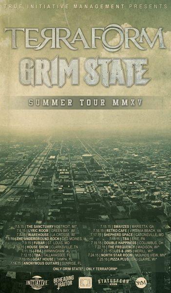 Terraform & Grim State Summer Tour