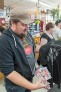 A Flipp Fan gets some merch autographed.