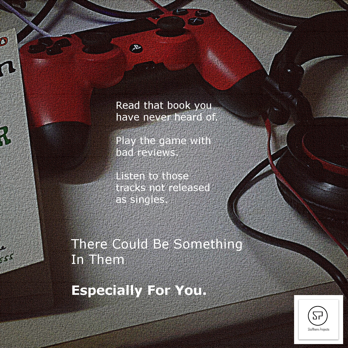 read-play-listen graphic by Stuffhere Projects