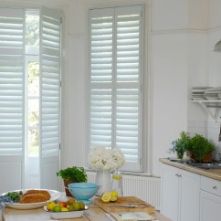Kitchen Window Shutters Stainless Steel Faucet With Pull Down Spray The Shutter Store Gallery White As A Door