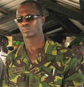 Defence minister - Palo Conteh