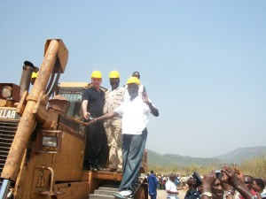 African minerals launch of project