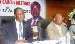 MINISTER SAMURA AT AFRICA FINANCE MINISTER MEET
