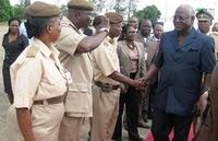 PRESIDENT KOROMA IN NIGERIA
