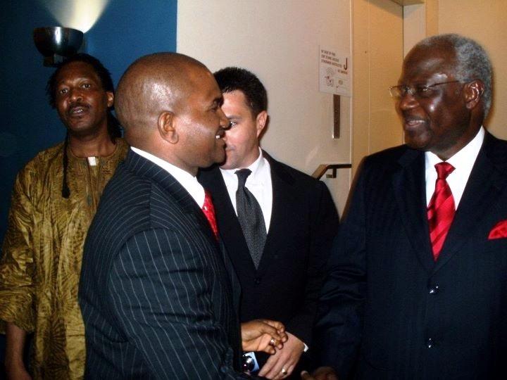 President Koroma  UN – Photo Op – UNGA Sidelines
