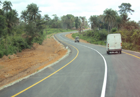SALONE NEW ROAD NETWORK