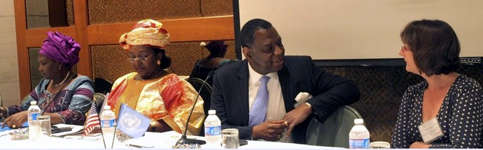 Sia Koroma at High-level Meeting – sept 2011