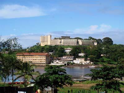 View-of-Hotel-Bintumani-in-Freetown