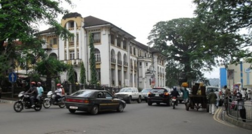 law courts building freetown